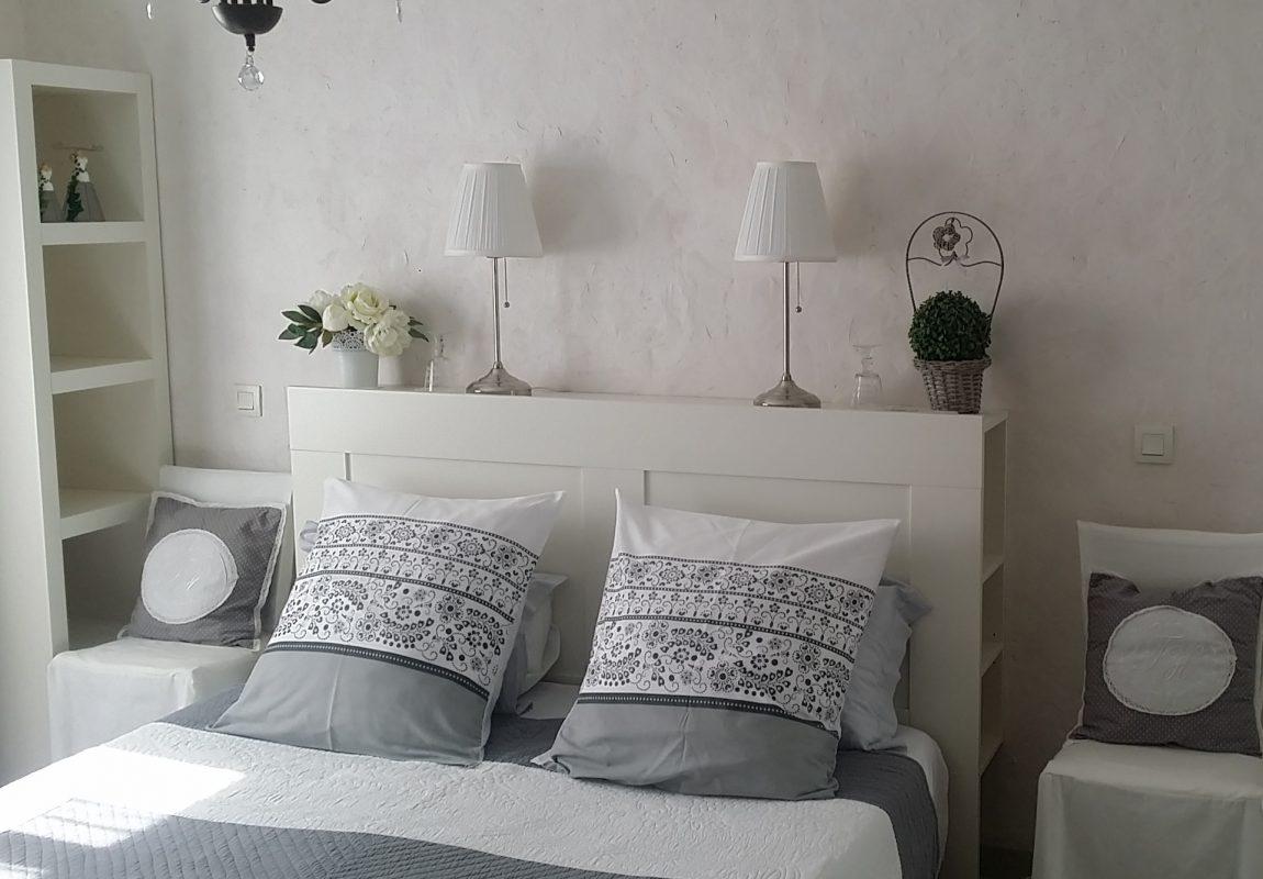 Appartement «Côté jardin» Chambre double