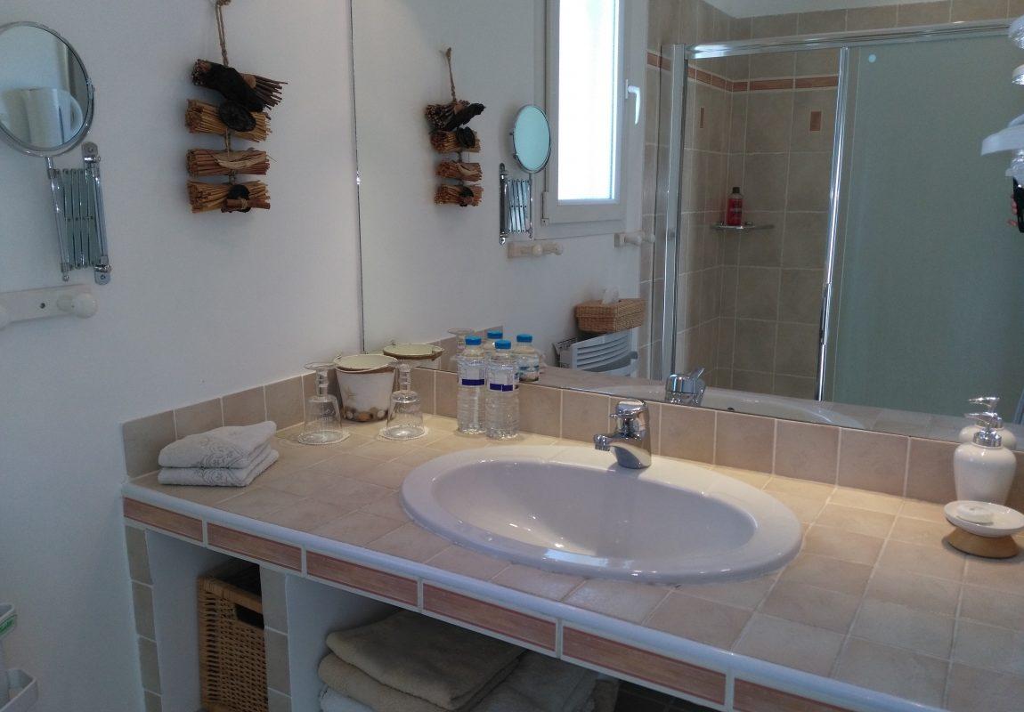 Chambre Double «Côté campagne» Salle d'eau